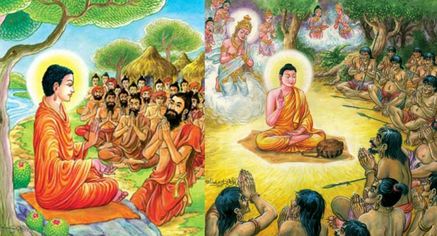 Today marks the Duruthu full moon Poya day