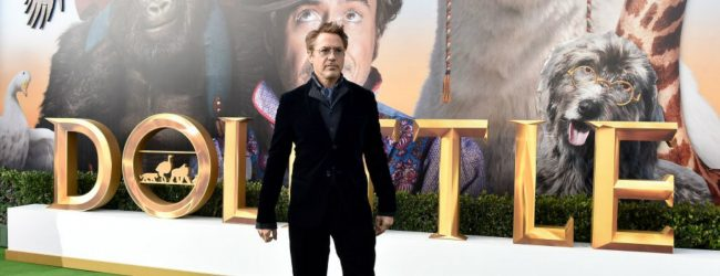 Robert Downey Jr. brings Dolittle to Berlin