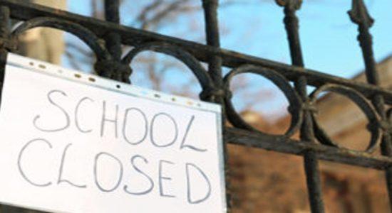 Parakumpura national school closed temporarily