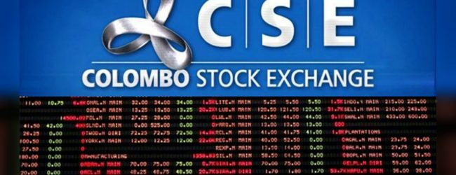 Colombo Stock Exchange closes on negative note