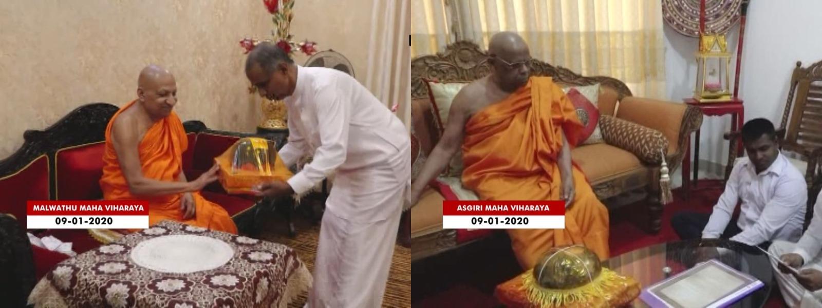 Aluthen Hithana Api Organization meets Chief Prelates
