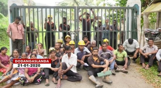 Miner involved in hunger strike withdraws due to illness