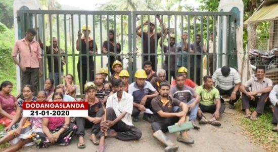 Miners' underground hunger strike continues