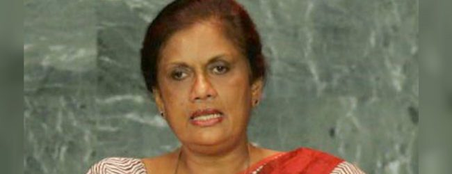 Chandrika Bandaranaike Kumaratunga removed from position of SLFP organizer