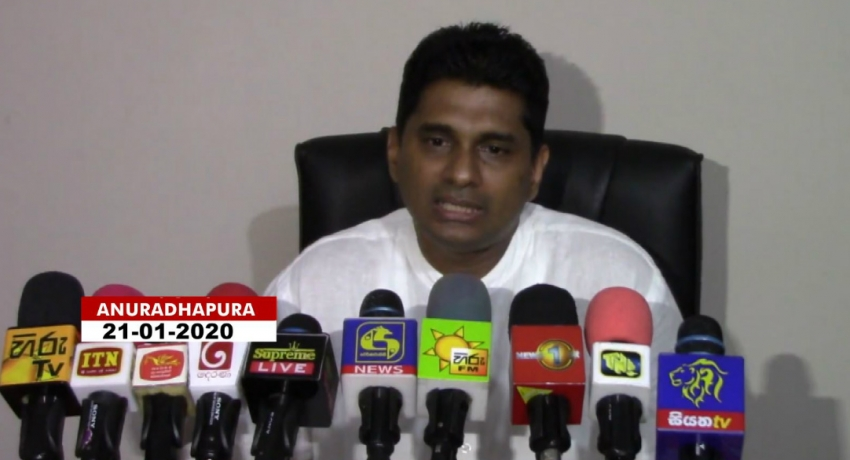 Viyath Maga members to contest under SLPP: Professor Channa Jayasumana