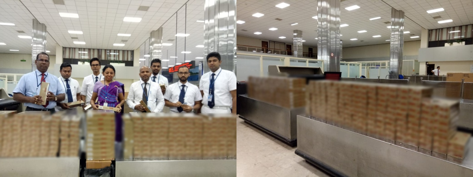 2 arrested with illegal cigarettes at BIA