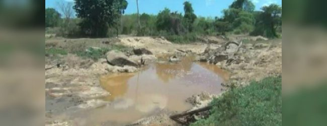 Four arrested for illegal sand mining