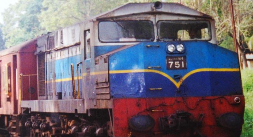 Delays on the main railway line