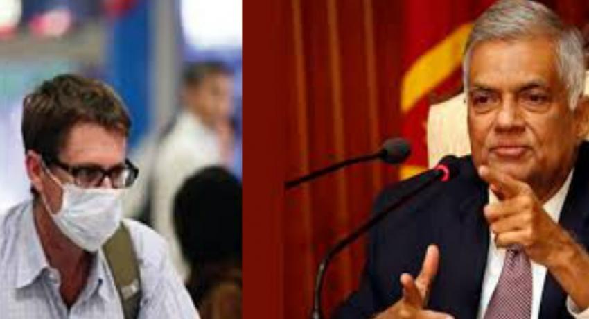 Ranil's suggestions to PM Rajapaksa on Coronavirus