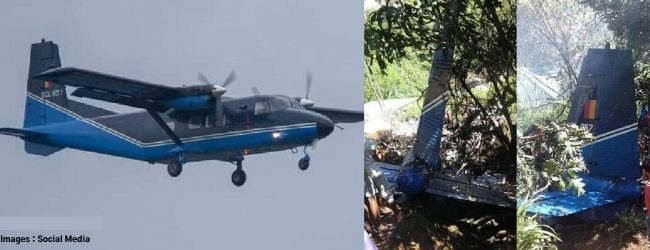 Interim report on the Haputale plane crash to be submitted within 3 days