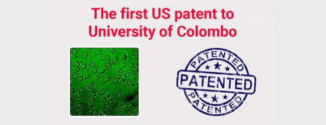 The first US patent to University of Colombo