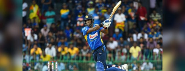 Angelo Mathews scores his maiden double century