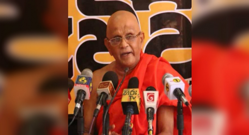 """President was handed over a country without a budget"" : Ven. Muruththetuwe Ananda Thero"