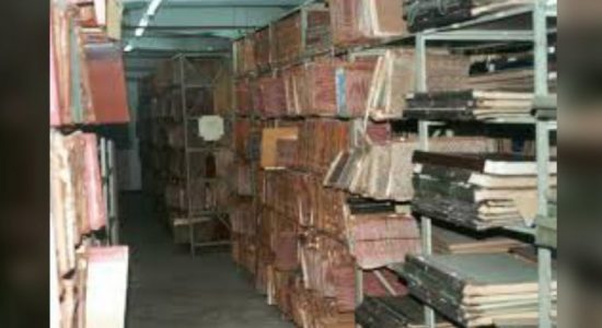 Foreigners banned from the National Archives