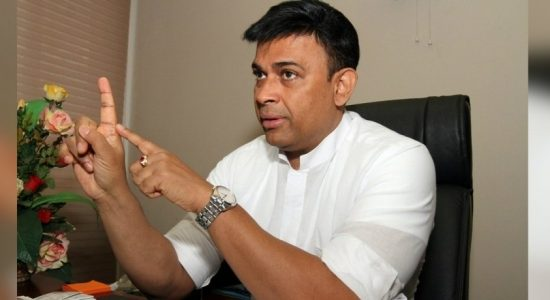 MP Ranjan Ramanayake's residence searched by police