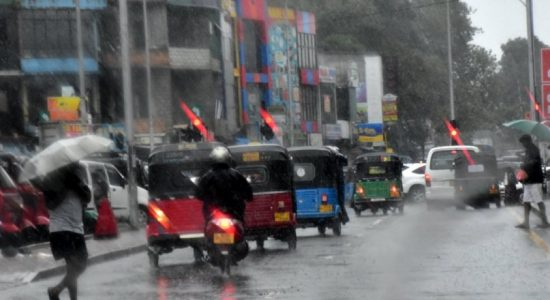 Rainy days ahead for most areas islandwide