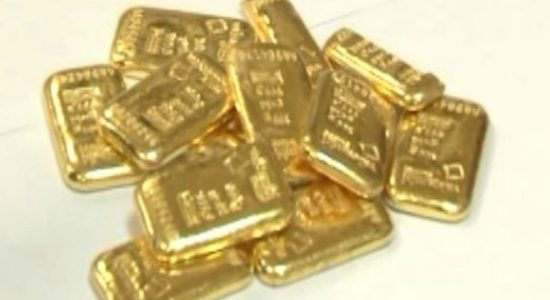 5kg of smuggled gold busted at the BIA