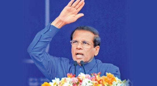 Former President Maithripala Sirisena to contest general election from Polonnaruwa