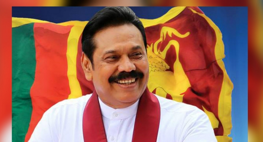 PM Mahinda Rajapaksa set to return to the island