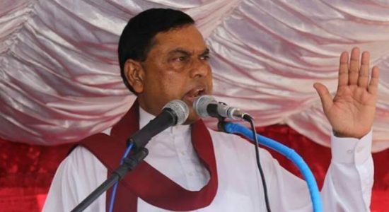 Basil Rajapaksa returns to the country