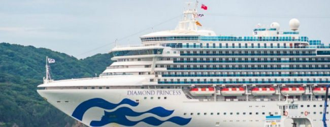 SL Crew aboard Diamond Princess flown to New Delhi