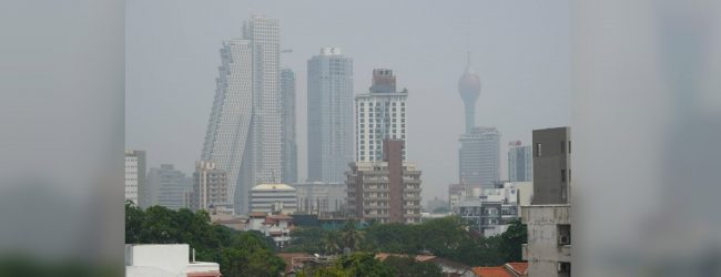 Air Quality Index of Colombo drops to an unhealthy level