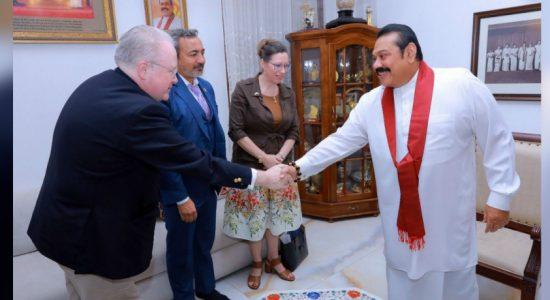 US Congressmen Ami Bera and George Holding meet PM