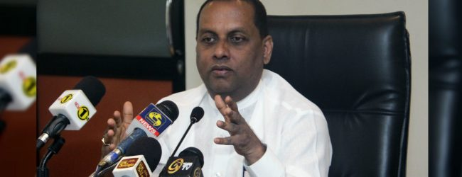 No power cuts as long as we are in power – Min. Mahinda Amaraweera