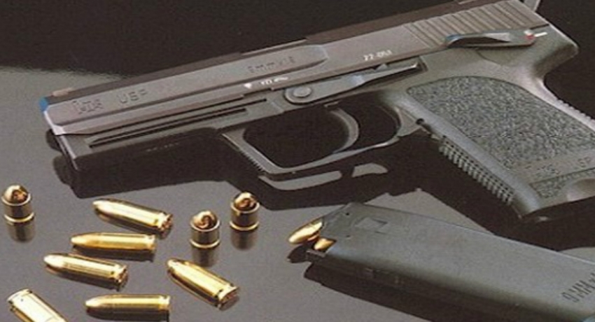 35 year old arrested for posessing local firearm in Nittambuwa