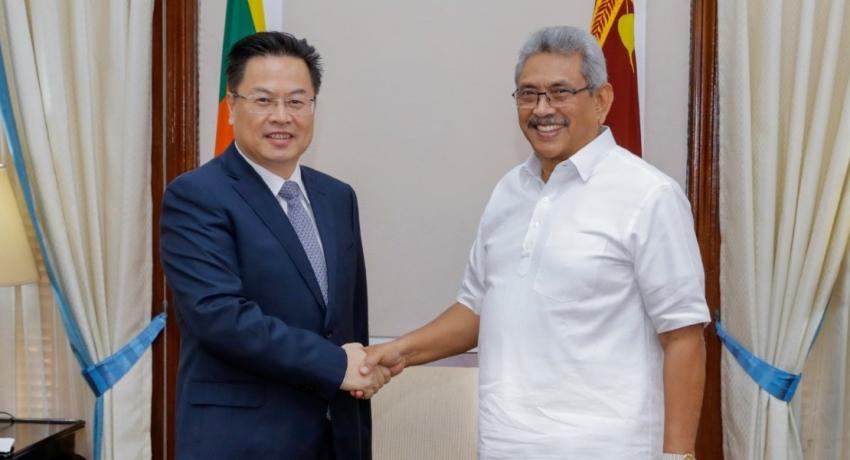 President Gotabaya Rajapaksa meets the Chinese Ambassador