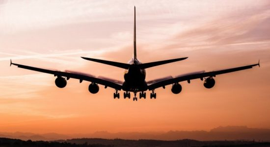 Aircraft carrying 33 SL students arrives in Sri Lanka