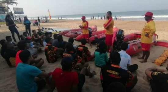 V-Force participates in life-saving training programme