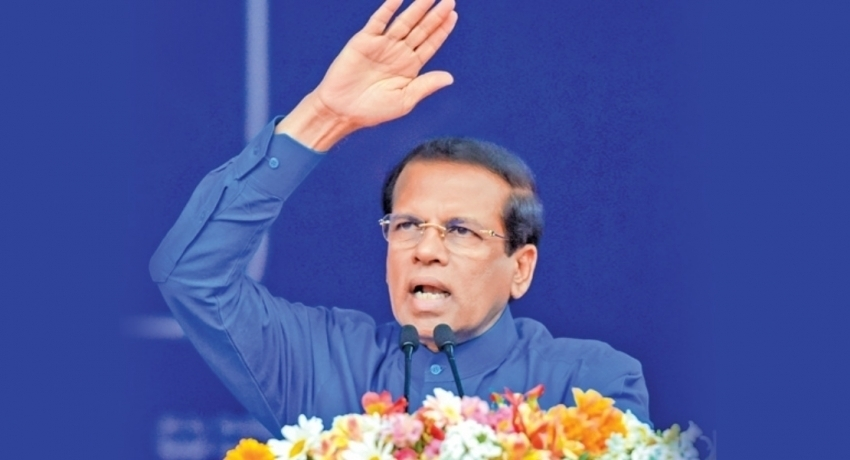 You can't take the country forward without the support of the parliament: Maithripala Sirisena