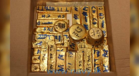 Navy recovers 14kg of smuggled Gold