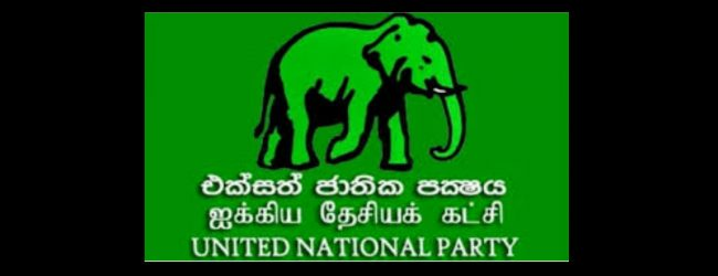 UNP Working Committee to meet tomorrow