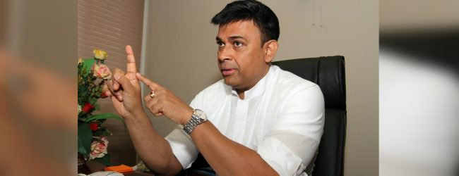 We have prepared a strategy to uplift the poor in this country: Dayasiri Jayasekara