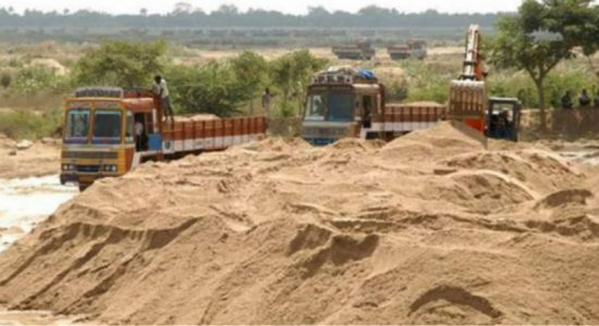 Sand transportation licenses to be issued