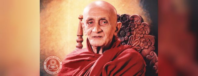 Most Ven. Ampitiye Rahula Maha Thero passes away at the age of 106