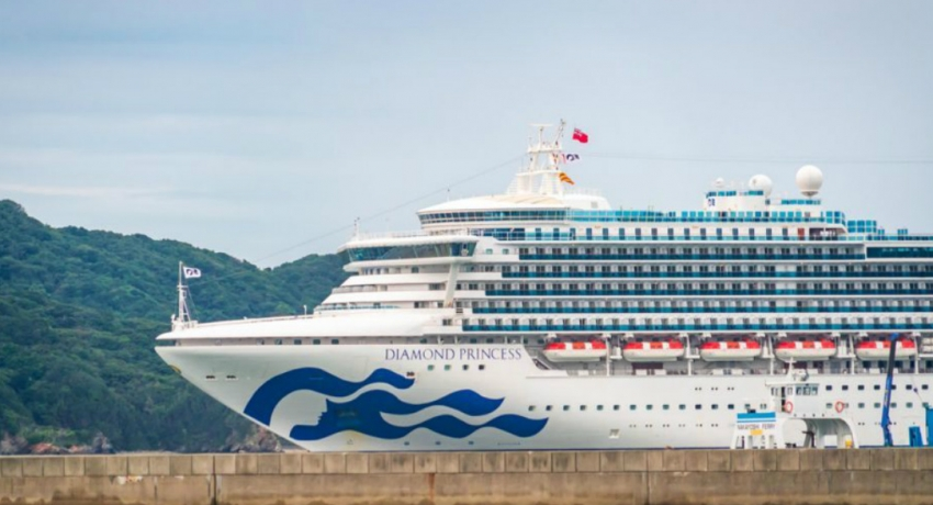 Sri Lankan Crew aboard Diamond Princess in Good Health