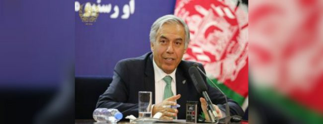 Afghan Finance Minister meets with President