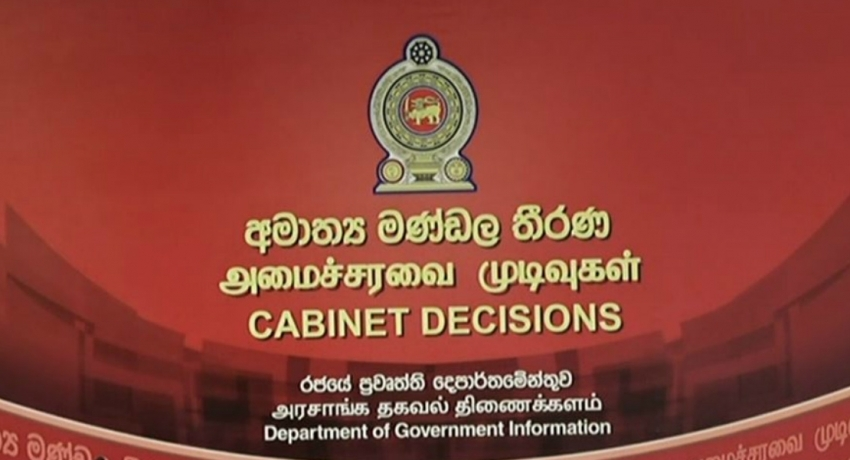 Cabinet approves decision to withdraw from UNHRC resolution 30/1