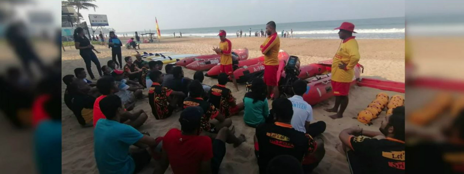 Drowning Prevention : V Force creating volunteer life savers