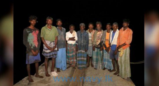 Eleven Indian fishermen arrested for fishing in Sri Lankan waters