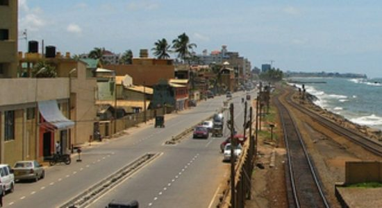 President proposes to extend Marine drive till Panadura