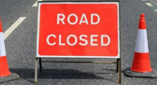 Kegalle – Rambukkana main road to temporarily be closed