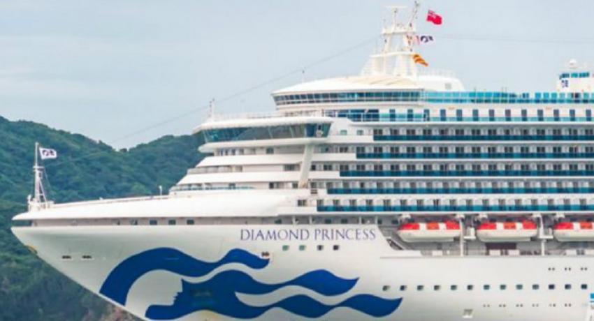 SL Crew aboard Diamond Princess flown to New Delhi
