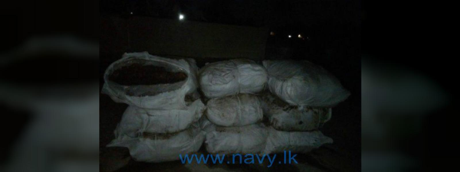Navy recovers 700kg of wet beedi leaves in Sinnapadu seas
