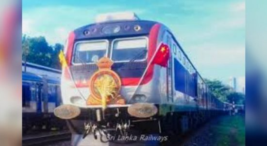 """Denuwara Manike"" deployed for train travel once again"