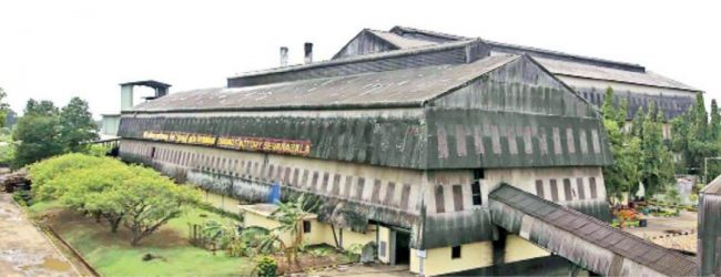 Sevenagala factory of the Lanka Sugar company manufactures disinfectant