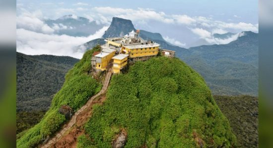 Nine arrested for taking drugs to Adam's Peak